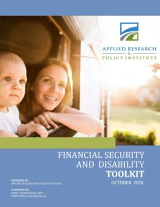 Financial Security and Disability Toolkit